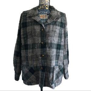 Pendleton womens Plus Sz Wool Button Shirt Jacket